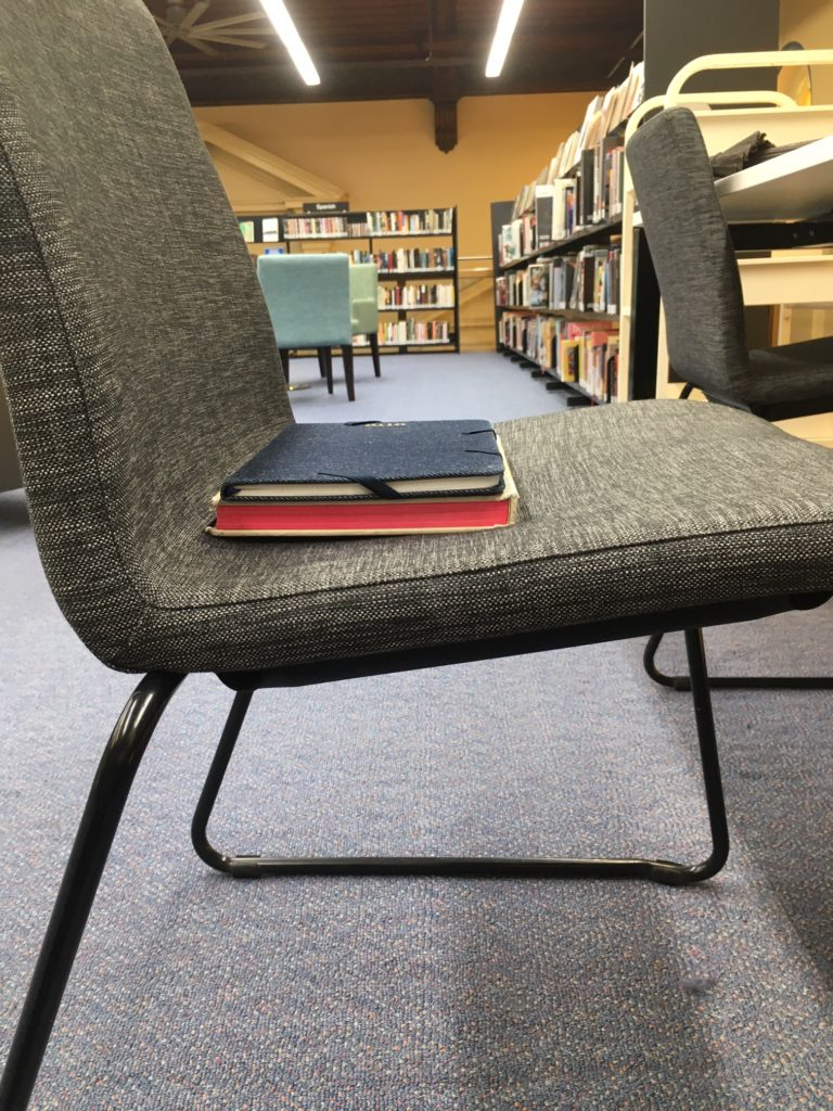 Fill the dip in your chair for better posture support